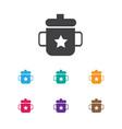 of infant symbol on mug icon vector image