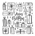 Christmas Gifts Clipart vector image