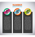 infographics concept design vector image