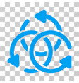 knot rotation icon vector image