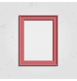 Pink modern picture frame vector image