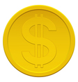 Coin vector image vector image