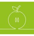 apple fresh design vector image