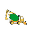 Construction Machine 380x400 vector image