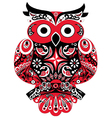 Owl Red vector image