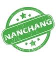 Nanchang green stamp vector image