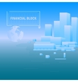 Background Financial Unit vector image