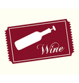 wine concept vector image