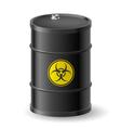 Biohazard barrel vector image vector image
