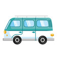 van turism isolated icon vector image