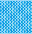 seamless pattern blue triangles vector image