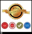 30 day money back guarantee vector image vector image