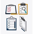 Checklist design flat vector image