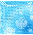 Abstract digital symbols vector image