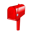 A view of a Letter Box vector image vector image
