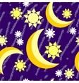 moon night grunge seamless texture vector image vector image