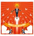 Business Idea series Business Team 2 concept vector image