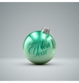 Christmas ball Holiday vector image