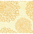Dahlia seamless pattern vector image