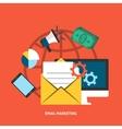 Email Makreting Concept vector image