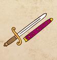 Sword Cartoon vector image