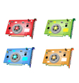 A Colorful Set of Video Card vector image