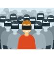 Virtual reality generation vector image