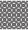 Seamless pattern of intersecting braces vector image