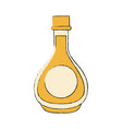 delicious honey bottle vector image