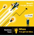 Business Idea series Business Team 3 concept vector image