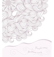 Template design for card vector image