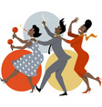 Party dance vector image