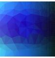 Binary Code Blue Polygonal Background vector image