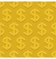 Dollars pattern vector image