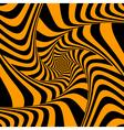 torsion movement vector image vector image