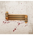 Victory Day realistic scroll st George Ribbon vector image