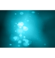 Blue colour bokeh abstract light background vector image