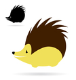 porcupine vector image