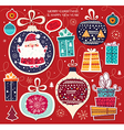 Toys and gifts vector image vector image