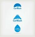 Logo car wash vector image