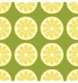 seamless pattern slices of lemon vector image