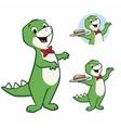 Cartoon Dino vector image vector image