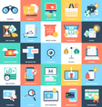 Business Concepts Icons 3 vector image