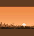 urban background banner vector image