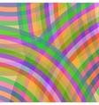 Colorful Retro Ornament vector image