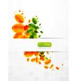 creative leaf vector image vector image