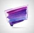 Violet flag vector image
