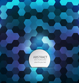 hexagon background 2 vector image