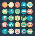 Medical Colored Icons 1 vector image