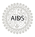 Aids day set vector image